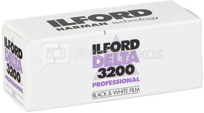Fotojuosta Ilford Delta 3200/120