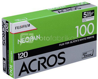 1x5 Fujifilm Acros 100 120 Neu