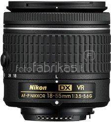 Nikon Nikkor 18-55mm F/3.5-5.6G AF-P DX VR (be dėžutės)