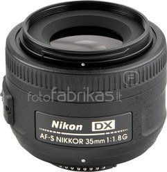 Nikon Nikkor 35mm F/1.8 G AF-S DX