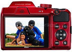 Nikon Coolpix B500 (raudonas)