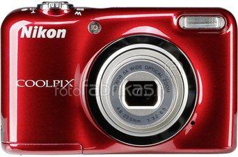 Nikon Coolpix A10 Kit (raudonas)