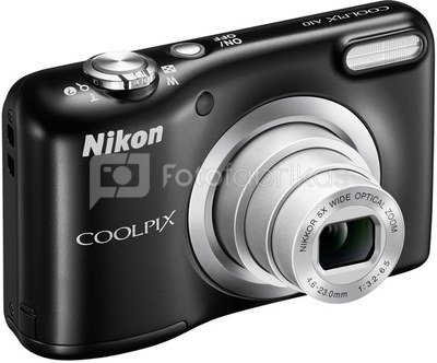 Nikon Coolpix A10 Kit (juodas)