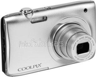 Nikon Coolpix A10 Kit (sidabrinis)