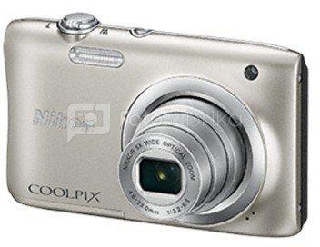 Nikon Coolpix A100 (sidabrinis)
