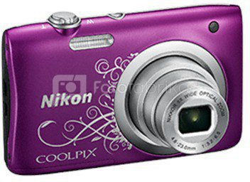 Nikon Coolpix A100 (purpurinis ornament)