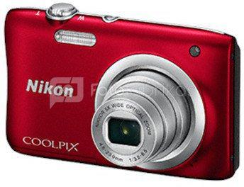 Nikon Coolpix A100 (raudonas)