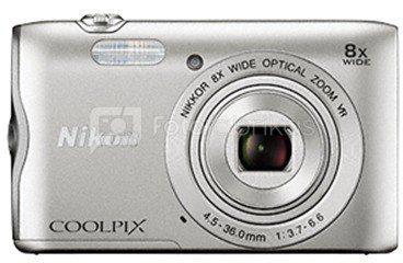 Nikon Coolpix A300 (sidabrinis)