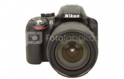 Nikon D3300 + 18-105 mm VR