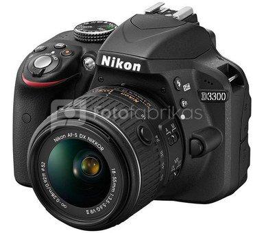 Nikon D3300 + 18-55mm VR + 55-300mm VR