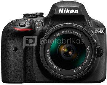 Nikon D3400 + 18-55mm AF-P VR
