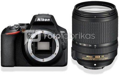 Nikon D3500 + 18-140mm AF-S DX VR