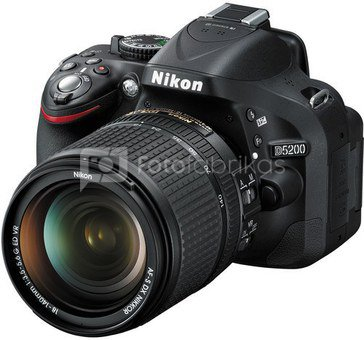 Nikon D5200 + 18-140mm (demo)