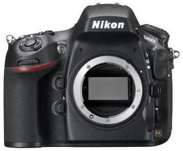Nikon D800E be objektyvo