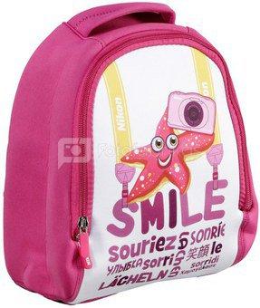 Nikon Kids Backpack pink