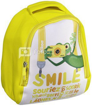 Nikon Kids Backpack yellow
