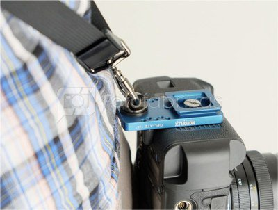Novoflex Q=PLATE QPL-AT2 1/4 Clamp Plate for Belt Adaption