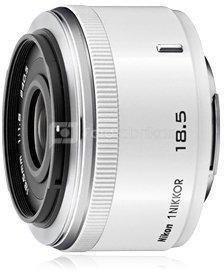 Objektyvas 1 NIKKOR 18.5mm f/1.8 (Baltas)