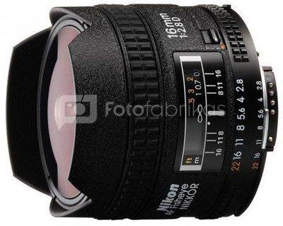 Nikon Nikkor 16mm F/2.8D AF Fisheye