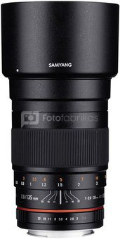 Samyang 135mm F2.0 ED UMC, Canon EF
