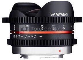 Samyang 7,5mm T3.8 Cine UMC Fish-Eye MFT