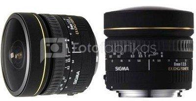Sigma 8mm F/3.5 EX DG fisheye circular (Nikon)