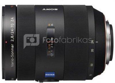 Sony 24-70mm f2.8 + CPL filtras