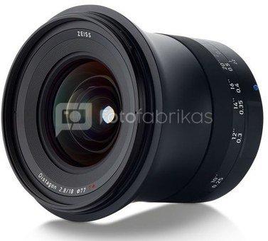 Zeis Milvus 18mm F/2.8 Canon