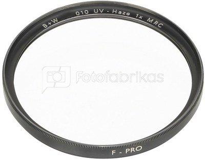 B+W F-Pro 010 UV Haze Filter MRC 49