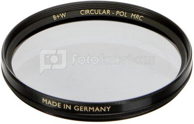 B+W F-Pro S03 Pol circular MRC 62