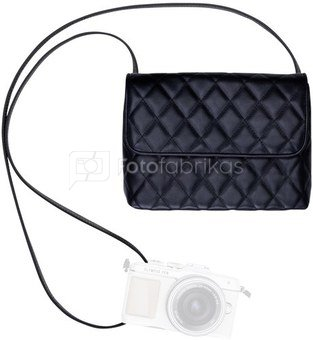 Olympus Clutch black like my dress