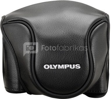 Olympus CSCH-118 Leather Bag black for Stylus 1