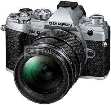 Olympus OM-D E-M5 Mark III + 12-40mm f/2.8 PRO Sidabrinis