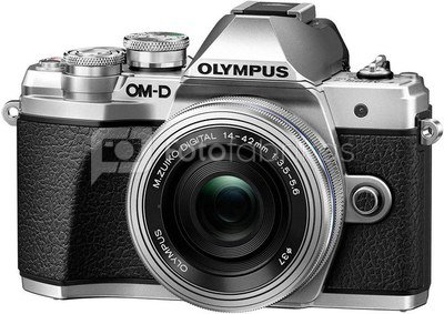 Olympus OM-D E-M5 Mark III + 14-42mm EZ Sidabrinis