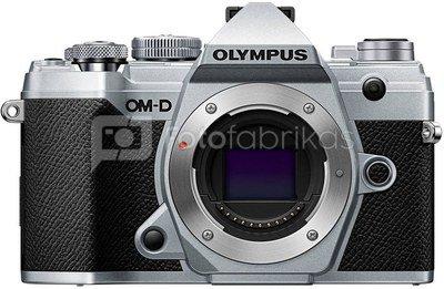 Olympus OM-D E-M5 Mark III Body Sidabrinis