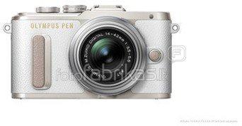 Olympus PEN E-PL8 + 14-42mm EZ (Baltas)