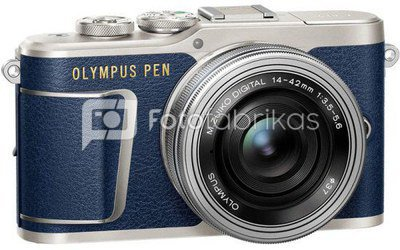 Olympus PEN E-PL9 + 14-42mm EZ (Mėlynas)