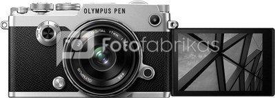 Olympus PEN-F + 17mm (silver/black)