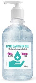 Omega disinfectant gel for hands 250ml