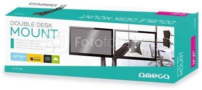 Omega double desk mount OUPC024D