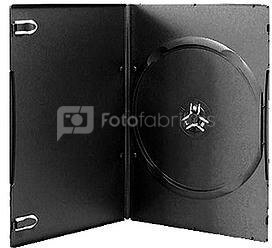 Omega DVD коробка 7мм Black Ultra Slim, черный