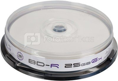 Omega Freestyle BD-R Printable 25GB 6x 10pcs spindle