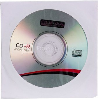 Omega Freestyle CD-R 700MB 52x envelope