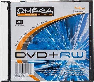 Omega Freestyle DVD+RW 4.7GB 4x slim