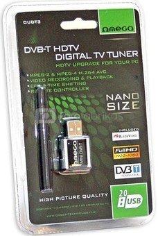 Omega TV card DVB-T USB Tuner MPEG4 HD T300