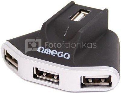Omega USB 2.0 hub 4-port (OUH24W)