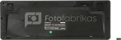 Omega wireless keyboard US SmartTV OKB004B, black (43666)