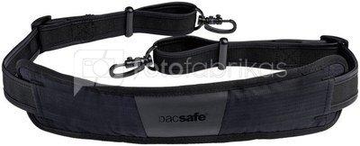 Pacsafe Carrysafe 200 shoulder strap black