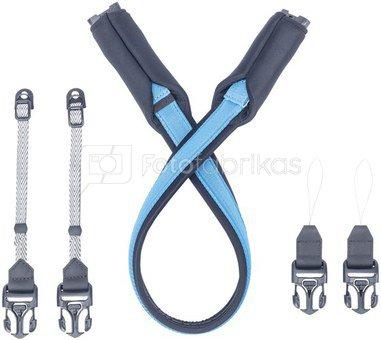 Pacsafe Carrysafe 75 GII Camera neck strap hawaiian blue