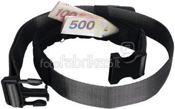 Pacsafe Cashsafe 25 deluxe Travel Belt Wallet Black